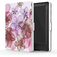 """MoKo Kindle 8ª Gen Case - Custodia Ultra Sottile Leggero per Nuovo E-reader Kindle, schermo touch da 6"""" anti riflesso (8ª Gen - modello 2016), Floreale VIOLA (NON per Kindle Paperwhite)"""