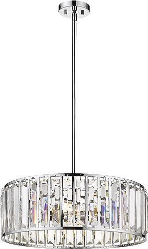 22″ Drum Chandelier Modern Ceiling Light Fixture