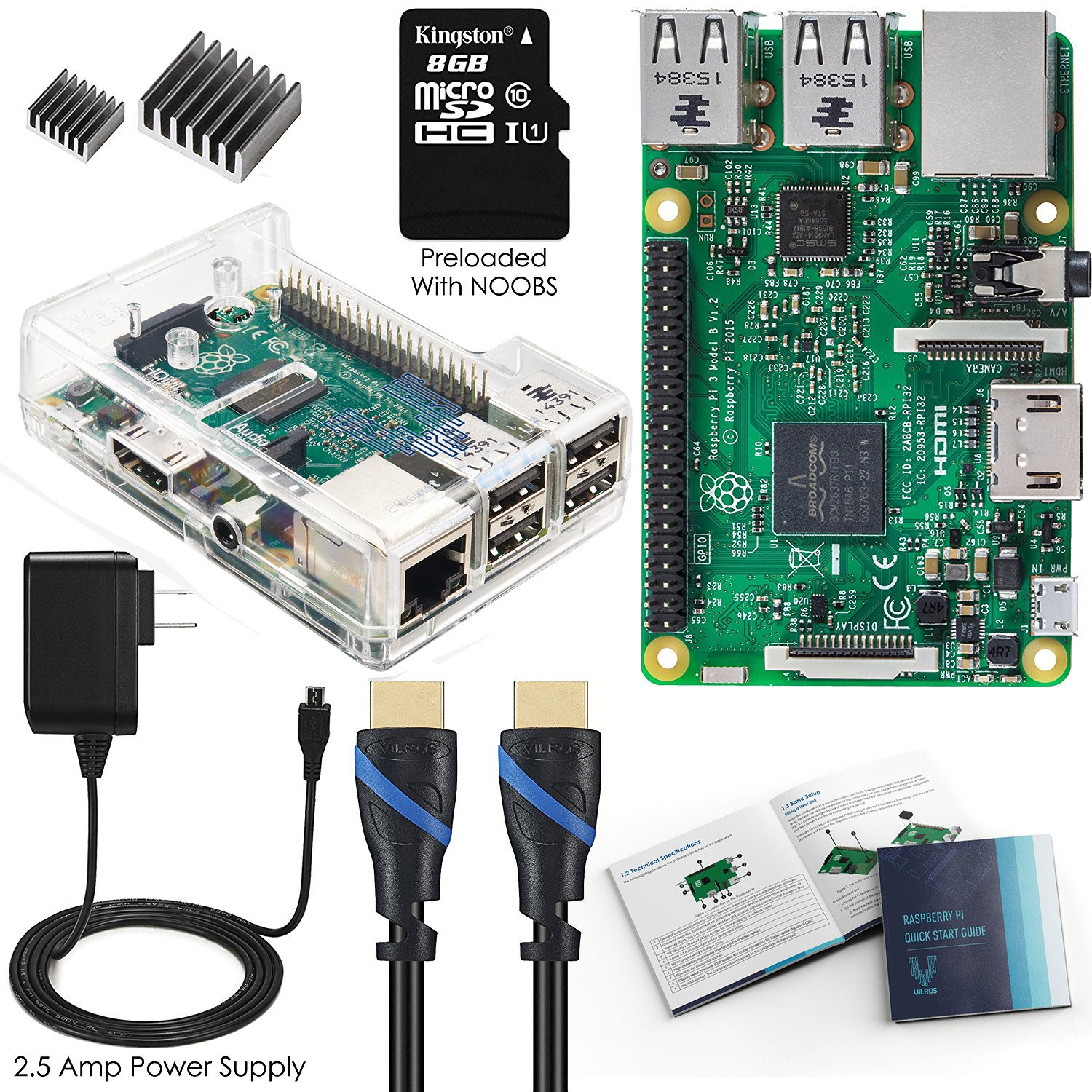 Vilros Raspberry Media Center Kit Image 1