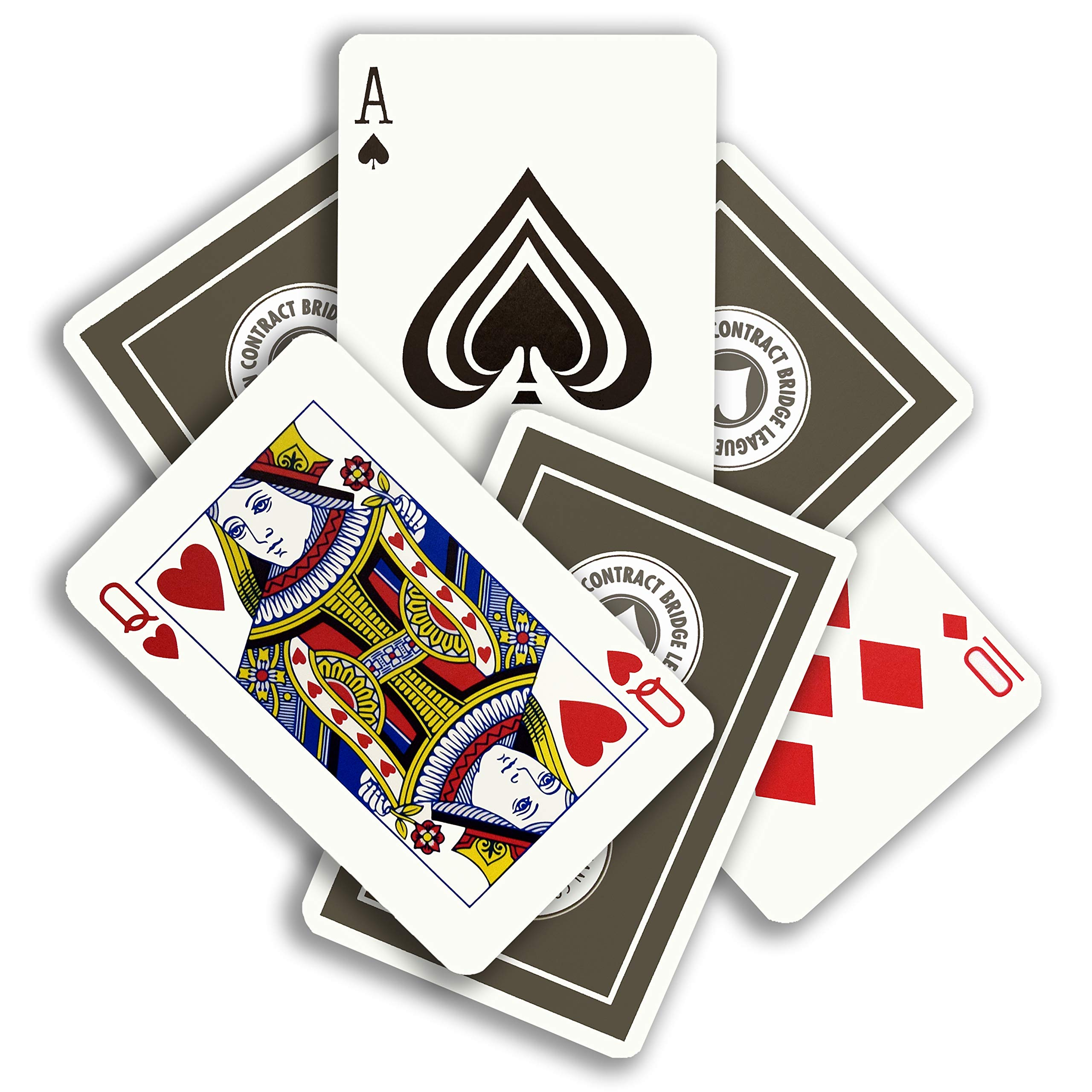 Baron Barclay ACBL (American Contract Bridge League) Playing Cards - 1 Dozen Decks - Bridge Sized - Plastic Coated by Baron Barclay (Image #2)
