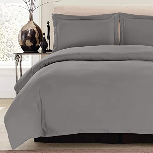 11 Colors Available Egyptian Duvet Cover Set 1800 Series Luxury Quality 3 Piece