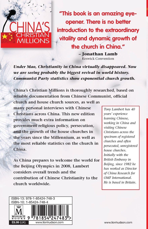 China's Christian Millions: Tony Lambert: 9781854247483: Amazon.com: Books