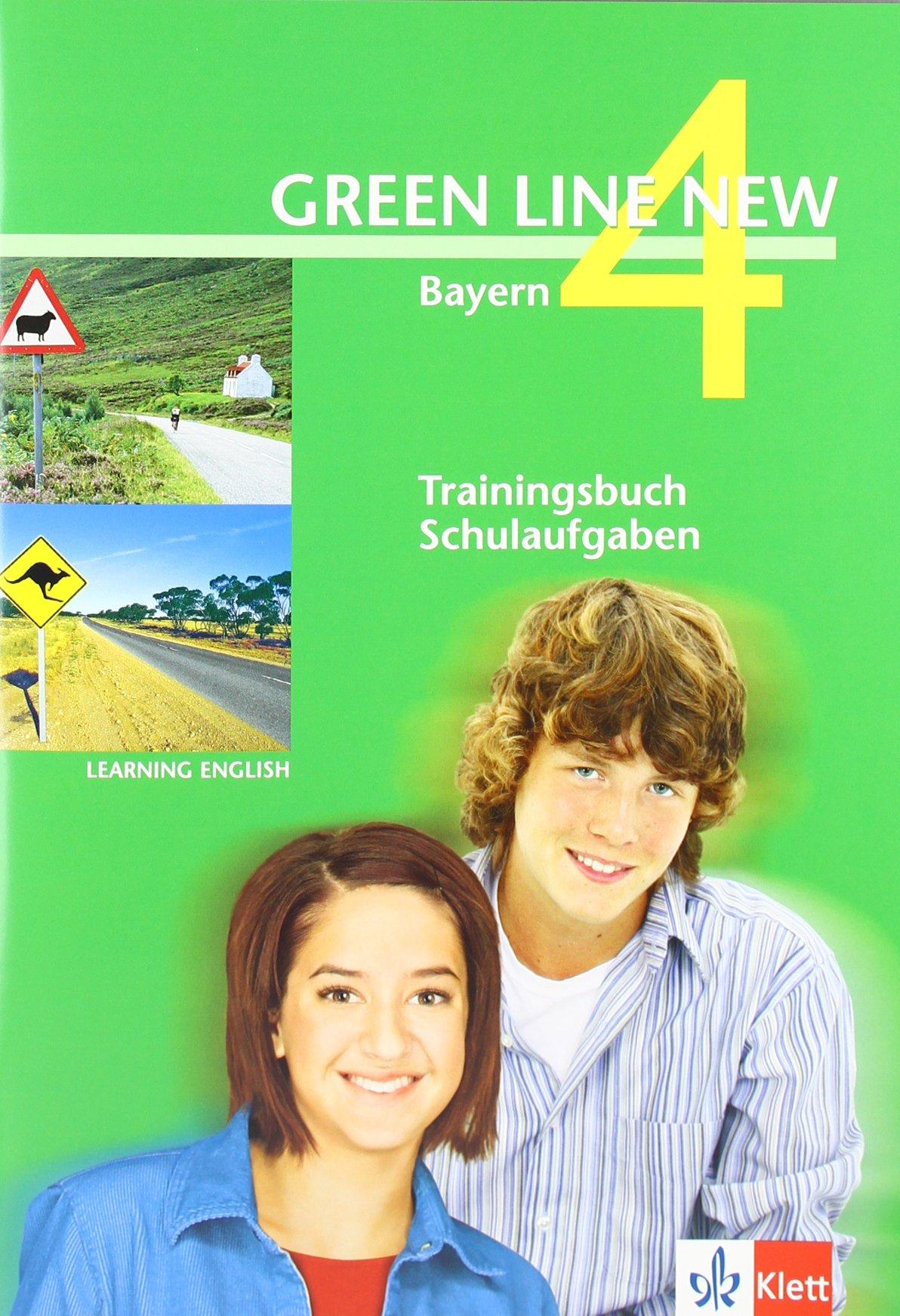Download Learning English Green Line New 4. Trainingsbuch Schulaufgaben. Bayern PDF