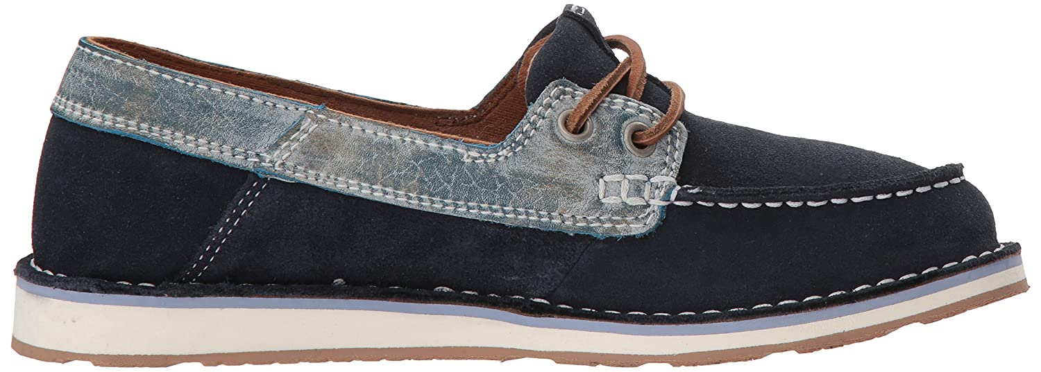 Ariat 6.5 Women's Cruiser Castaway Sneaker B076MK1LXF 6.5 Ariat B(M) US|Navy Ice Blue 78f036