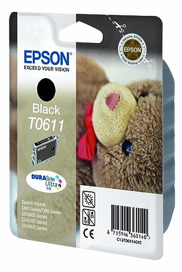 Epson C13T06114010 - Cartucho de tinta negro válido para EPSON ...