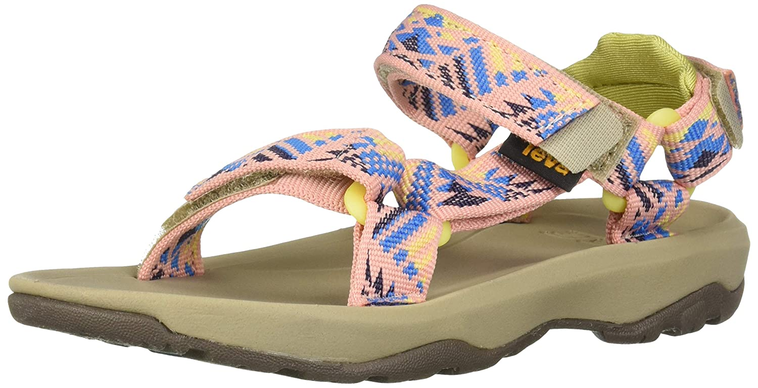 fb07473df Amazon.com  Teva Girls  K Hurricane XLT 2 Sport Sandal Boomerang Apricot  Blush 3 Medium US Little Kid  Shoes