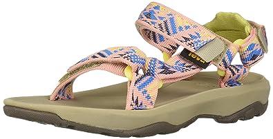 728622160 Teva Girls  K Hurricane XLT 2 Sport Sandal Boomerang Apricot Blush 3 Medium  US Little