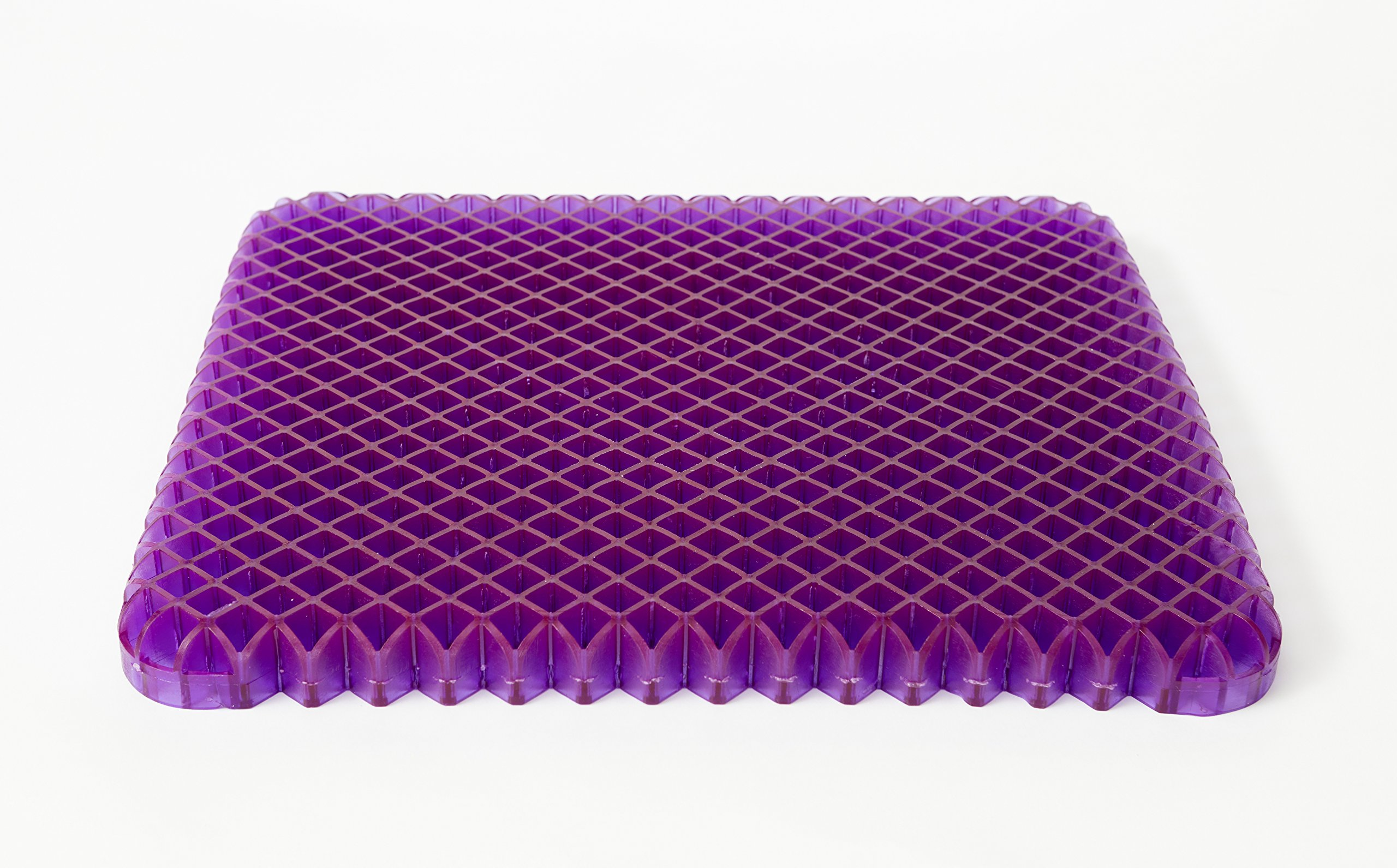Purple Seat Cushion Simply - Seat Cushion For The Car Or Office Chair - Can Help In Relieving Back Pain & Sciatica Pain