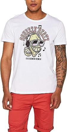 edc by Esprit Camiseta para Hombre: Amazon.es: Ropa y accesorios