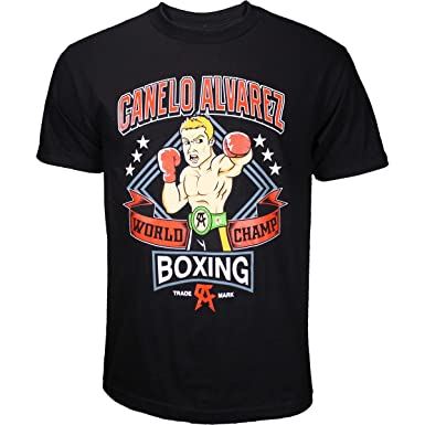 d5a89e48d8f6 Image Unavailable. Image not available for. Color: Canelo Alvarez Brand  Punch Shirt ...