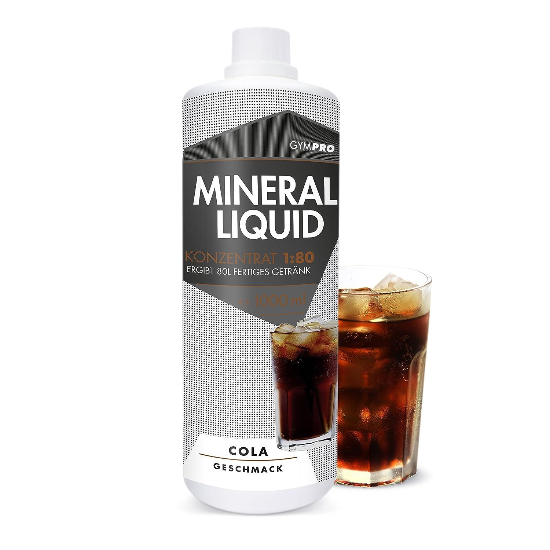 GymPro Mineraldrink Mineralgetränk Low Carb Vital Drink 1:80, 1000ml ...