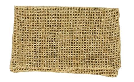 Plan B Funda tabaco de liar TWO DAYS Saco (11,5 x 7,5 cm) 20 g de picadura con bolsa interior de goma EVA Yute. Hecha a mano en España