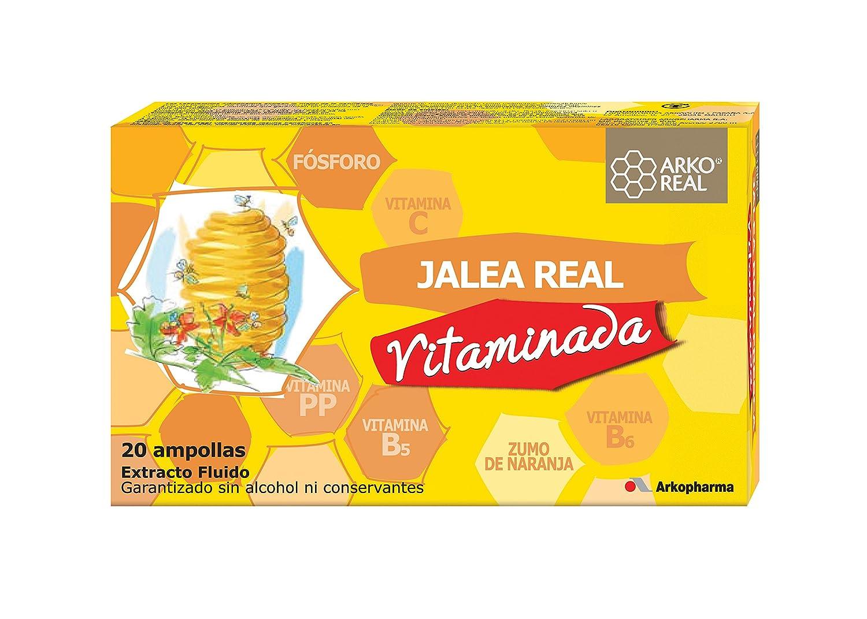ARKOREAL JALEA REAL VITAMINADA 10 AMPOLLAS: Amazon.es: Salud y cuidado personal