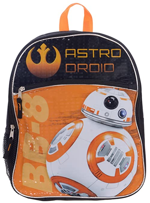 Image Unavailable. Image not available for. Color  Disney Star Wars BB-8  Backpack for Kids 15 Inch Full ... 998fdcc15342c