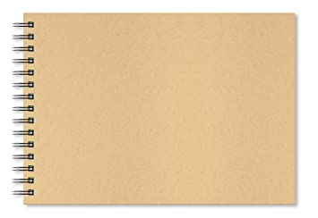 1584888ba Artgecko Krafty - Cuaderno de dibujo (A4, 80 páginas, 40 hojas), 150 ...