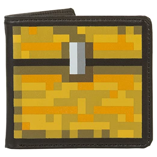 JINX Minecraft Chest Leather Wallet