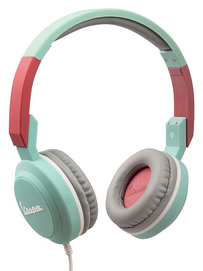 Tribe Vespa - Auriculares on-Ear con micrófono I Auriculares Cascos para iPhone, Android, Movil, PS4, Xbox, PC, Computador: Amazon.es: Electrónica