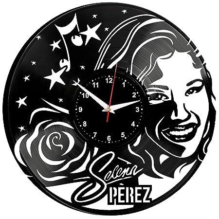 EVEVO Selena Quintanilla-Pérez Reloj De Pared Vintage Diseño ...