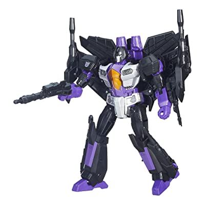 Transformers Generations Leader Skywarp Action Figure: Toys & Games