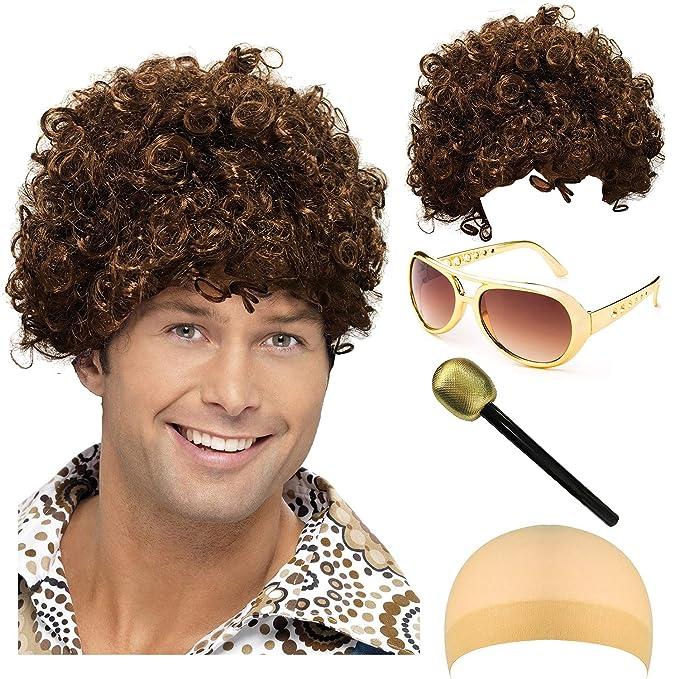 Amazon.com: Disco King disfraz de Halloween de los años 70 ...