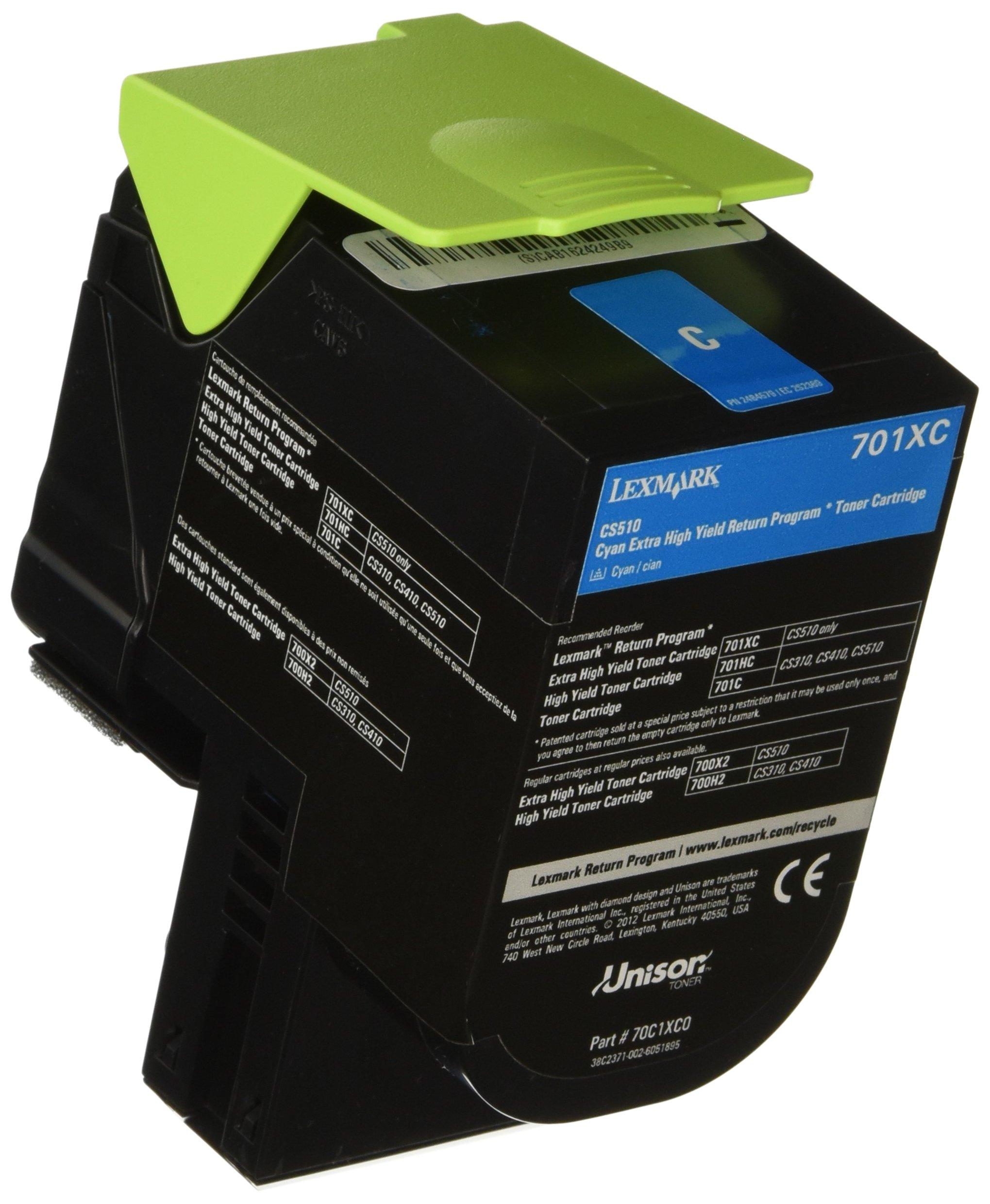 Toner Alternativo ( X1 ) Alta Capacidad Cyan 70C1XC0 4000-Paginas
