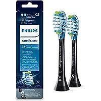Philips Sonicare Original Aufsteckbürste Premium Plaque Defence HX9042/33, 10x mehr Plaqueentfernung, RFID-Chip, 2er Pack, Standard, Weiß