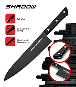 Compra SAMURA Shadow Cuchillo Profesional de Chef - japonés ...