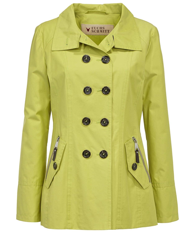 Online gehen verschiedene Farben heiß-verkaufendes spätestes Fuchs Schmitt Jacke Cabanjacke Damen Limone - Gr. 42: Amazon ...