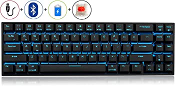 RK71 LED Backlit Wired/Wireless Compact Gaming Keyboard