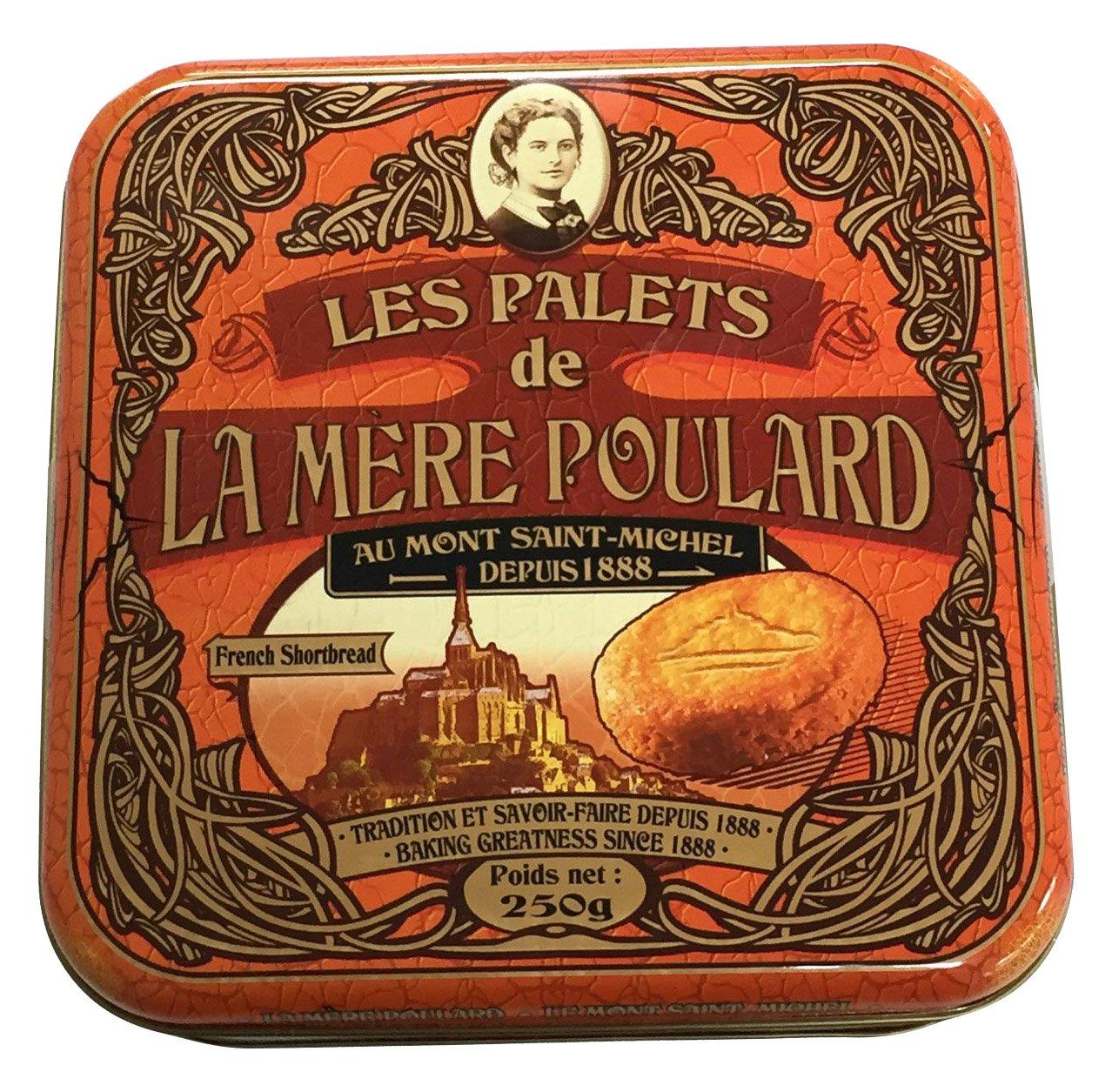 La Mere Poulard Palets Biscuits, 8.82 Ounce