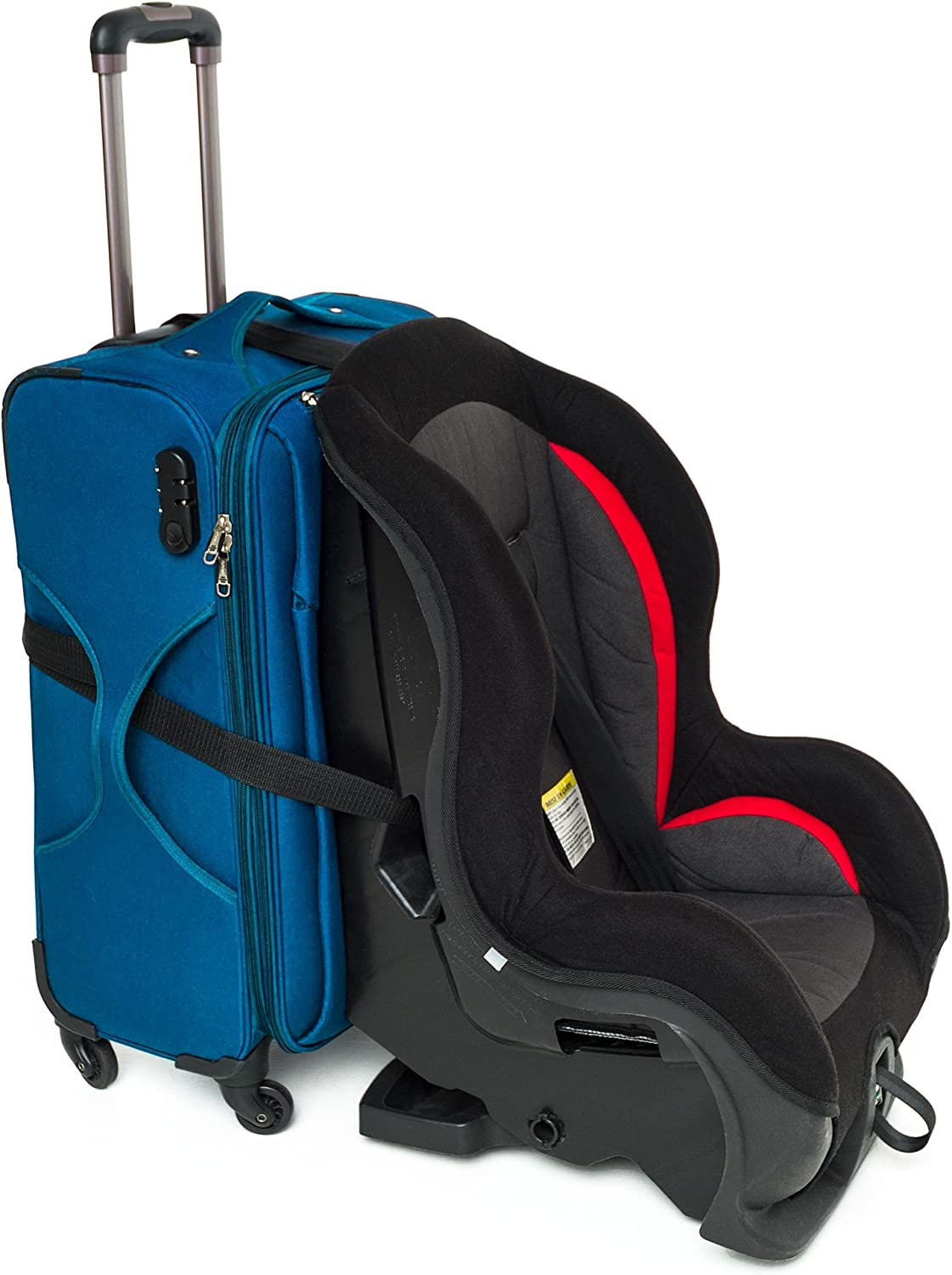 Lightweight Baby Car Seat Storage Bag Stroller Carrier Best for Airplanes Trains. MQUPIN Car Seat Bag Travel Luaage Bag with Backpack Shoulder Straps