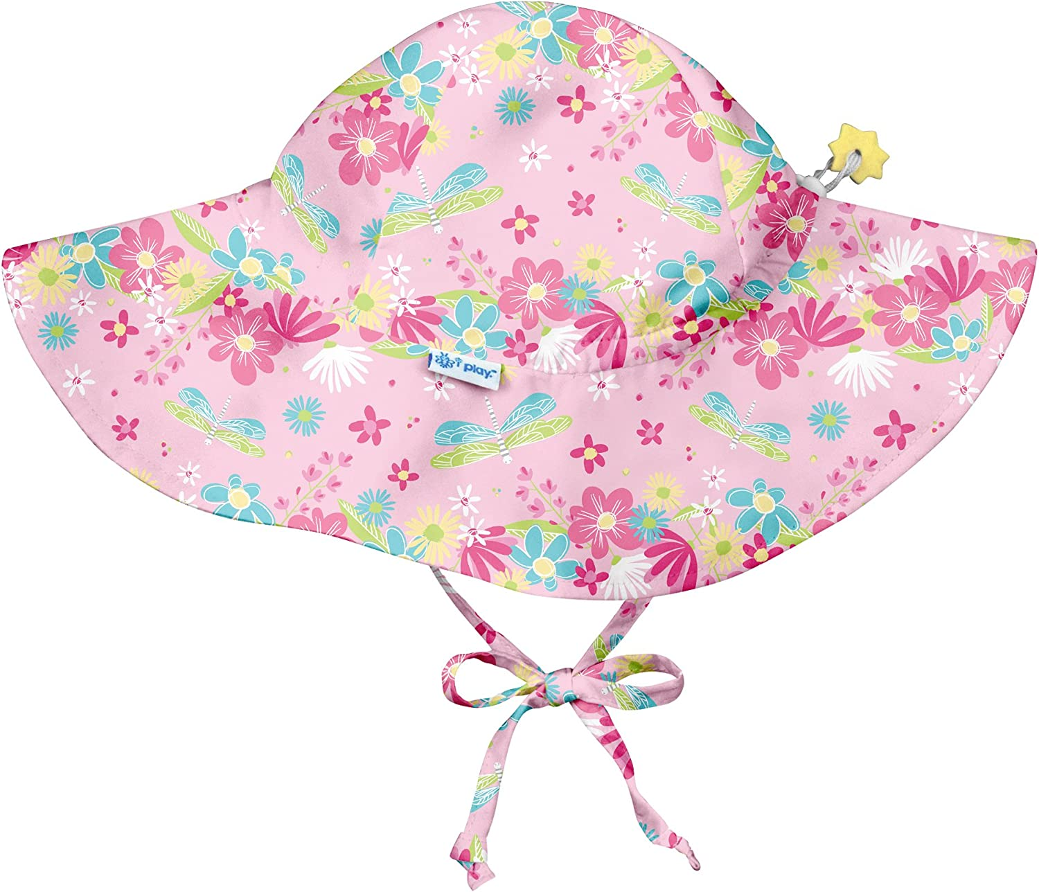 by green sprouts Boys Brim Sun Protection Hat i play