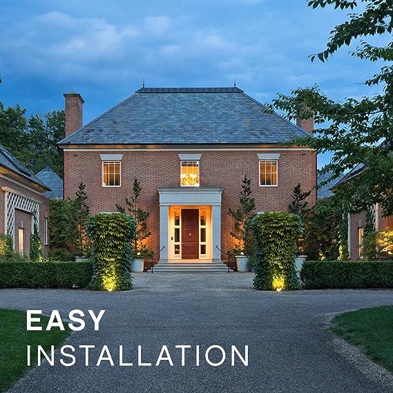 Hinkley Lighting Landscape Deck Light Hardscape Deck Light to Illuminate Exteriors and Increase Home Security 1546BZ Bronze Finish