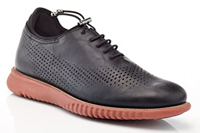 Men's Men's Perforated and Smooth Sneakers Dv4mjGlVY
