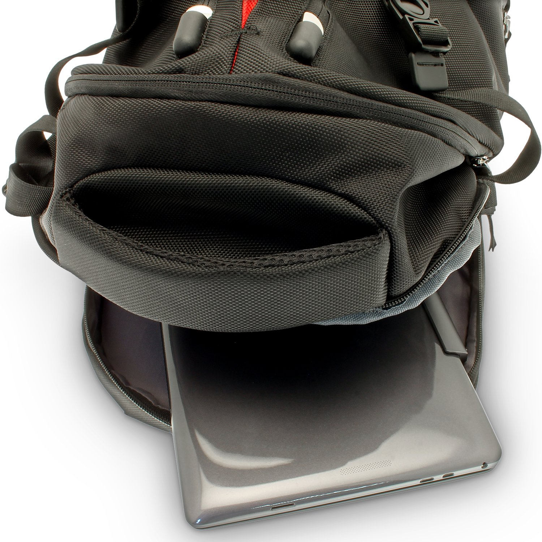igadgitz Negro Resistente al Agua SLR DSLR Cámara y Laptop Mochila para Pentax K Mount K Series K2, KX, KM, K1000: Amazon.es: Electrónica