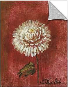 Silvia Vassileva ''Garden Flower III'' Removable Wall Art Mural, 14X18