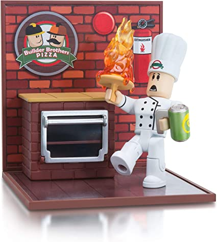 Amazon Com Roblox Desktop Series Collection Work At A Pizza