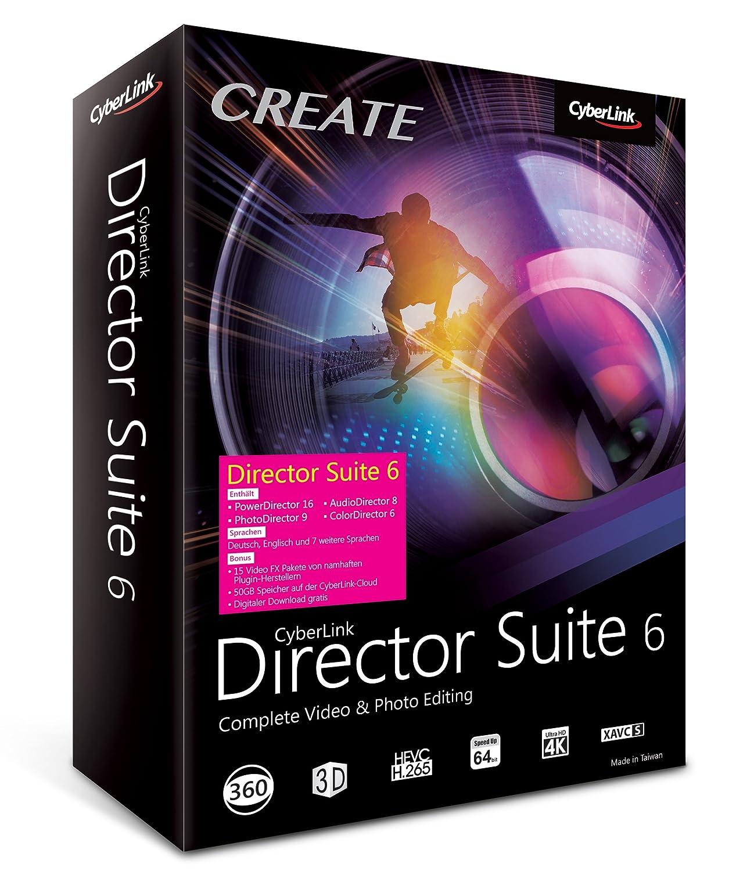 Packshot zu CyberLinks Mediasoftware Director Suite 6