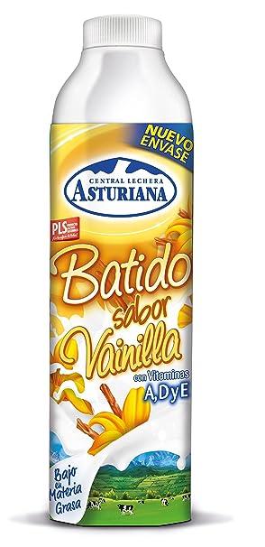 Central lechera asturiana batido sabor vainilla con vitaminas a, d y e envase 1l (asturiana)