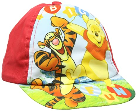 1c7f6e4a56f4f Disney Baby Boys' Winnie The Pooh Cap: Amazon.co.uk: Clothing