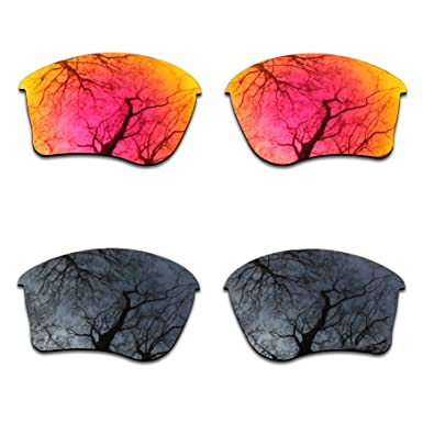 dd50deba861 Image Unavailable. Image not available for. Color  2 Pair Polarized Lens  Replacement for Oakley Half Jacket ...