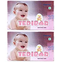 CURATIO Tedibar Baby Bathing Bar , 75 g , Pack of 2