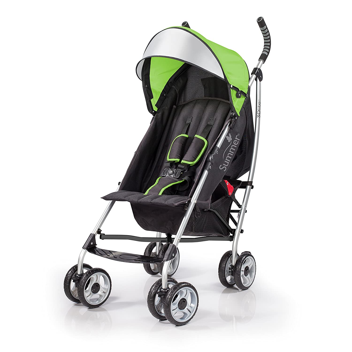 Summer Infant 3D Lite Convenience Stroller - Black 21930A