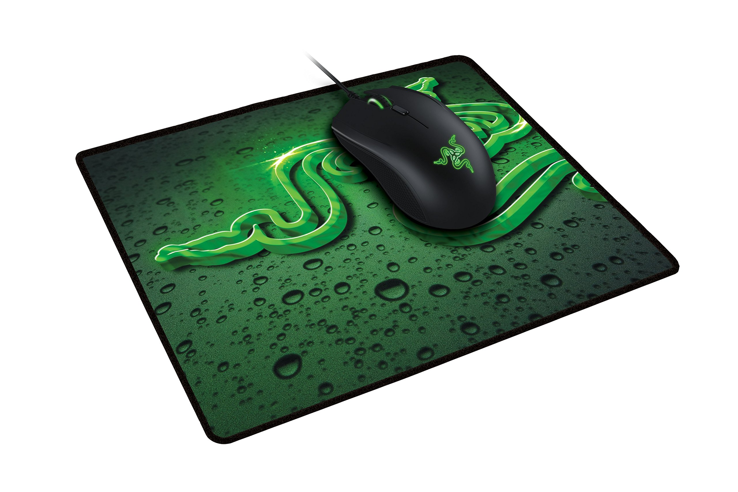 Razer Gaming Starter Bundle - Abyssus 2000 Gaming Mouse and Goliathus Speed Terra Mouse Mat by Razer
