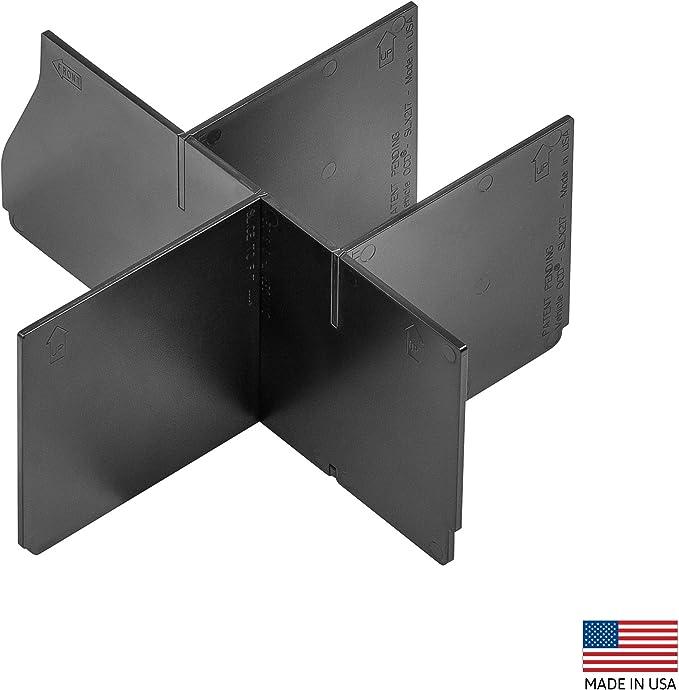 EOTH Center Console Organizer Replacement for 2018-2019 Wrangler JL//JLU 2020 Gladiator JT Black Storage Box Armrest Organizer Tray