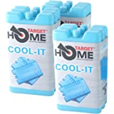 Target Homewares® Reusable Freezer Blocks - Cools & Keeps Food Fresh - Use With Target Cool Box For Added Cooling (Pack of 9)