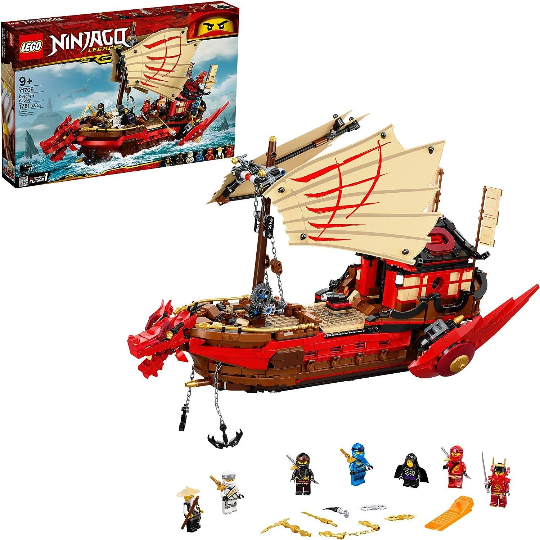 LEGO NINJAGO Legacy Destiny's Bounty 71705 Ninja Toy Building Kit Featuring Ninja Action Figures, New 2020 (1,781 Pieces)