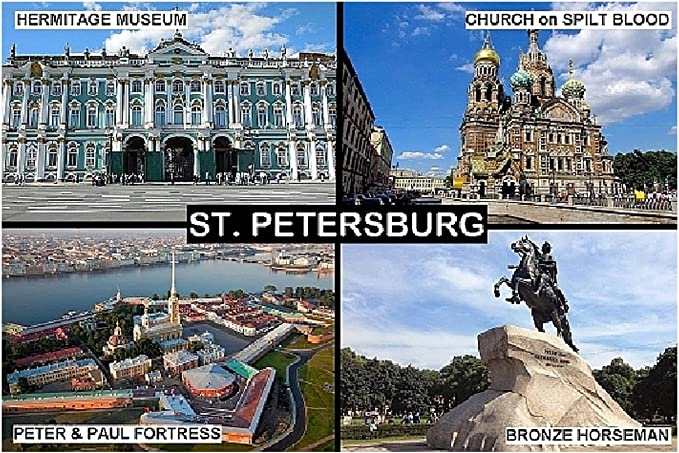 Magnet Kühlschrankmagnet Love  St.Petersburg II Magnetschild