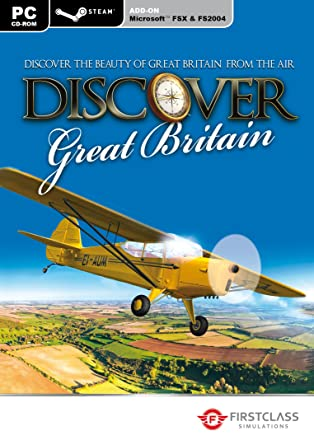 Discover Great Britian FSX and Steam ( PC CD): Amazon co uk
