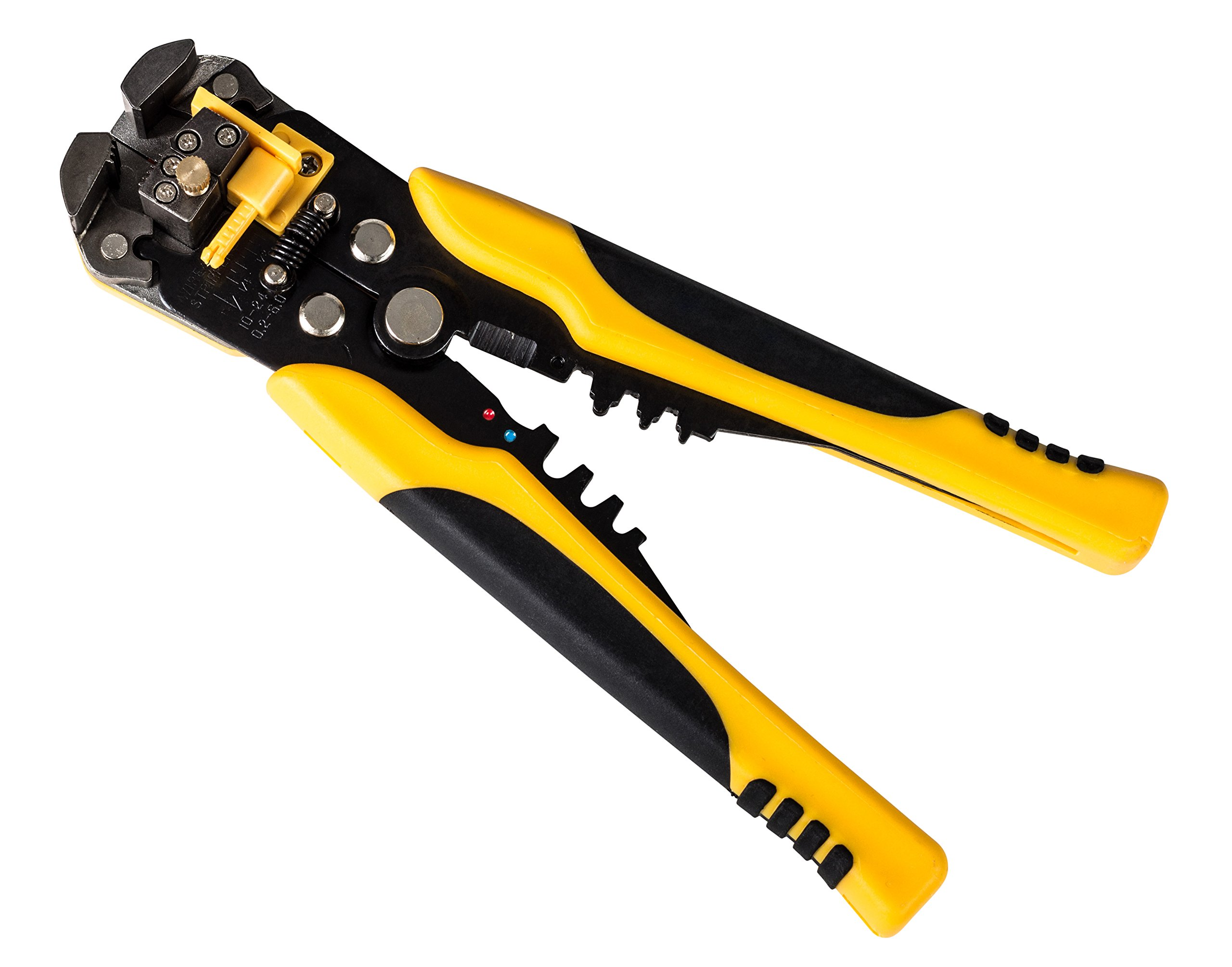 Gee Gadgets Self Adjusting Wire Stripper Comfortable Grip and Ergonomic Handle Powerful Stripping, Cutter, Crimper and Pliers Hand Tool By Gee Gadgets